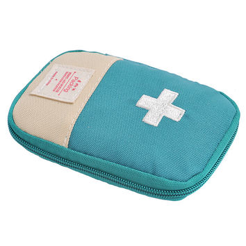 Outdoor Hiking Gfirst Aid Emergency Medical Survival Kit Bag Wrap Gear Storage Cosmetic Bag To Hunt Small Travel Medicine Kit