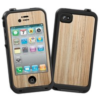 Swamp Ash Skin  for the iPhone 4/4S Lifeproof Case by skinzy.com