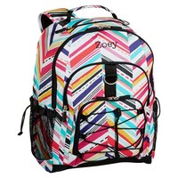 Gear-Up Diagonal Stripe Backpack