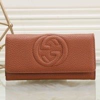 Gucci Women Leather Purse Wallet-19