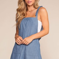 Lucille Chambray Romper