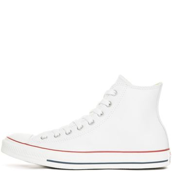 Unisex Chuck Taylor All Star Hi White Leather