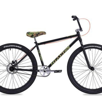 "Eastern Growler 26"" Black Complete Cruiser Bike"