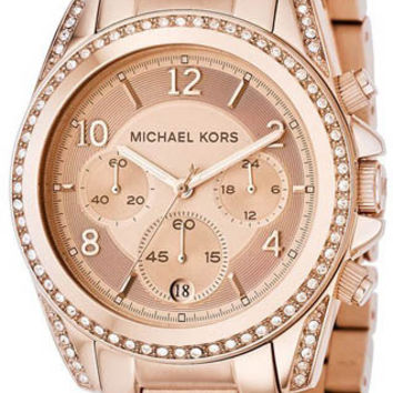 Michael Kors Rose Gold Runway Chronograph MK5263 Watch