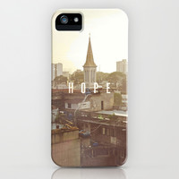 HOPE iPhone & iPod Case by Pocket Fuel