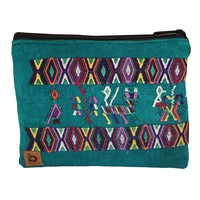 Handmade Guatemala Medium Travel Pouch Bag