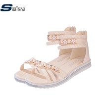 Gladiator Sandals Women Breathable Mesh Outdoor Flats Women Summer Shoes AA10201