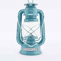 Sunnylife Storm Lantern Oil Lamp in Turquoise - Urban Outfitters