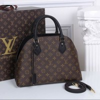 DCCK Louis Vuitton Neverfull MM Monogram Canvas ALMA B'N'B Bag Handbag Black Article: M41779