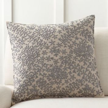 Moroccan Embroidered Pillow Cover