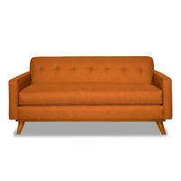 Clinton Ave Apartment Size Sofa in SWEET POTATO - CLEARANCE