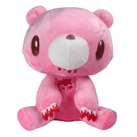 Gloomy Sits Down Plush : Pink with Blood by Mori Chack | myplasticheart
