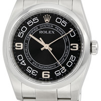 Rolex No Date Mens 31 Jewels Automatic Watch 116000BKCAO