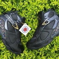 Air Jordan 8 Confetti Basketball Shoes 40-47