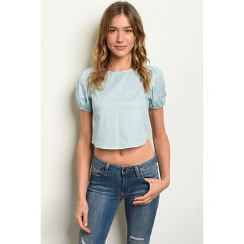 Womens Lace Up Top