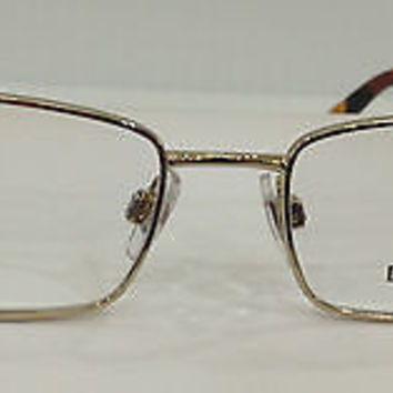 NEW AUTHENTIC DOLCE & GABBANA DG 1215 COL 1025 GOLD METAL EYEGLASSES FRAME