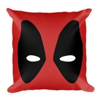 "Deadpool 18"" x 18"" Square Throw Pillow Cushion Made in the USA"
