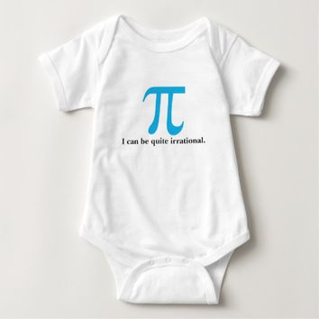 Pi Symbol, I can be Irrational Infant Creeper