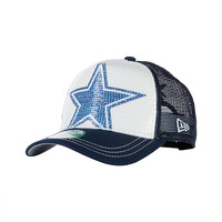 Dallas Cowboys New Era Womens Sequination Cap | Adjustable | Hats | Womens | Cowboys Catalog | Dallas Cowboys Pro Shop