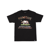 CULTIVATED BLAZE TEE - BLACK