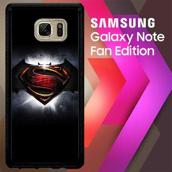 Batman Vs Superman V0076 Samsung Galaxy Note FE Fan Edition Case