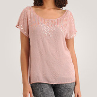 Sequin Shine Top