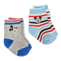 Mickey Mouse Socks for Baby - 2-Pack