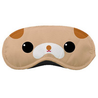 Sleep Mask / Eye Mask- Cute Kawaii Dog Design