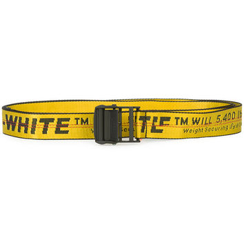 Off-White Logo Strap Belt - Farfetch