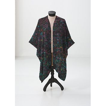 Immersed Sheer Shawl