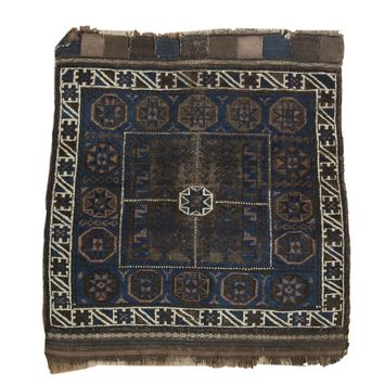 2.5x3 Antique Belouch Square Rug