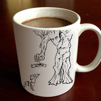 The Giving Groot_ Guardians of the Galaxy_giving Tree available for one side / two side mug /  ceramic cup mug / 11 oz
