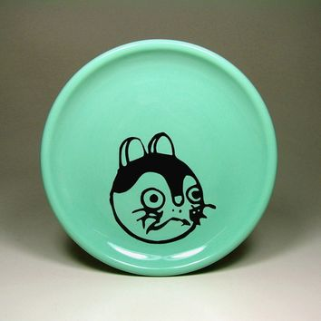 little plate fortune kitty - Made to Order / Pick Your Colour