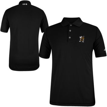 West Virginia State Yellow Jackets adidas Puremotion Solid Golf Polo - Black