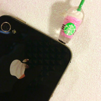 Starbucks inspired Frappuccino Dust Plug