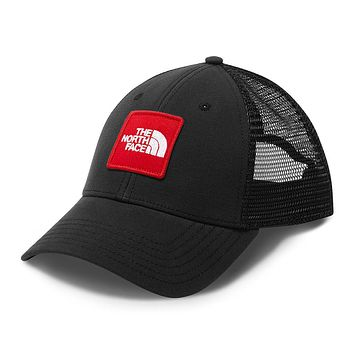 Patches Trucker Hat in TNF Black & TNF Red by The North Face