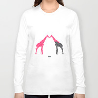 Giraffe Long Sleeve T-shirt by Estudio Minga | Www.estudiominga.com