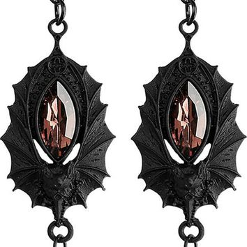 Bat [Black] | EARRINGS
