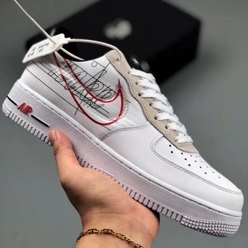 Trendsetter Nike Air Force 1 07 Women Men Fashion Casual Old Skool Shoes
