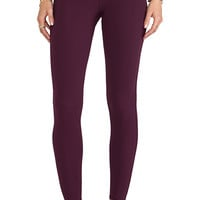 Charlie by Matthew Zink Hipster Pants in Burgundy