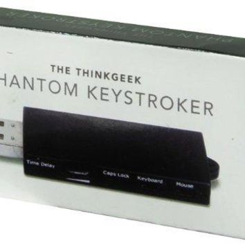 Phantom Keystroker Prank V2 - Time Delay Dial, Caps Lock, Keyboard, and Mouse Switches