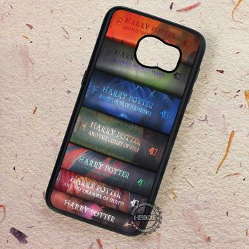 Book Series Harry Potter Movie - Samsung Galaxy S7 S6 S5 Note 7 Cases & Covers