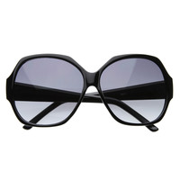 Glamorous Oversize Square Womens Fashion Sunglasses 8313