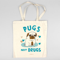 Pugs Not Drugs by Gemma Correll