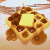 Waffles with syrup SOAP gift set of 2 - Smells like REAL waffles, syrup and butter - Makes a great gift - VEGAN
