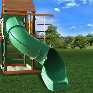 Gorilla Playsets Radical Ride Tube Slide for 5ft Deck Heights