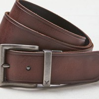 AEO Women's Reversible Leather Belt (Brown)