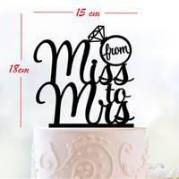 Wedding Cake Topper Silhouette,Personalized miss to mrs  Custom Cake Topper Ring cake topper mrs mr  Cake Topper,birthday Cake Decoration