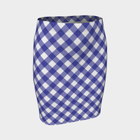 zappwaits bayern Fitted Skirt