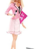 Barbie I Can Be News Anchor Doll